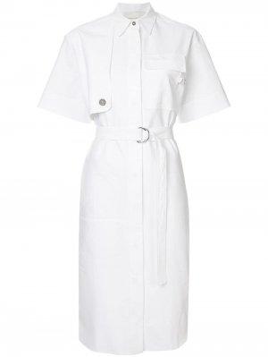 Платье-рубашка Cédric Charlier. Цвет: белый