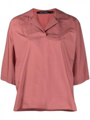 Sofie Dhoore рубашка с косым воротником D'hoore. Цвет: розовый