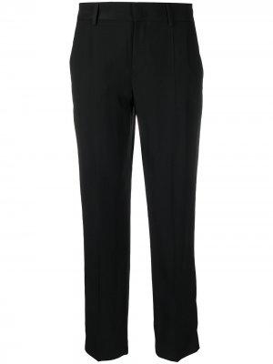 Прямые брюки строгого кроя RED Valentino. Цвет: черный