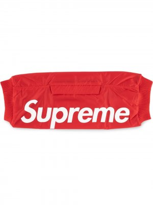 Муфта с логотипом Supreme. Цвет: красный