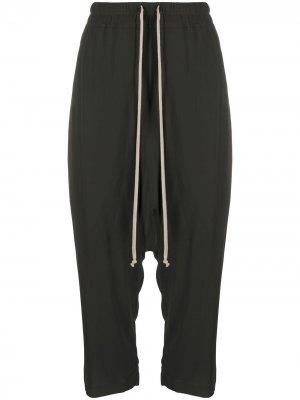 Укороченные спортивные брюки Rick Owens. Цвет: нейтральные цвета