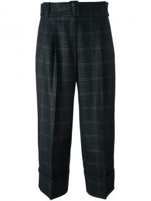 Укороченные брюки Antonio Marras. Цвет: серый