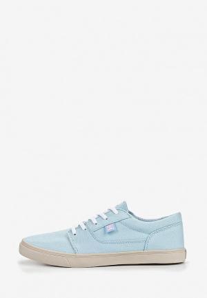 Кеды DC Shoes. Цвет: голубой