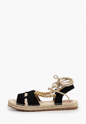 Сандалии Ideal Shoes. Цвет: черный
