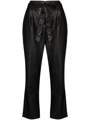 Укороченные брюки Melila PAIGE. Цвет: черный
