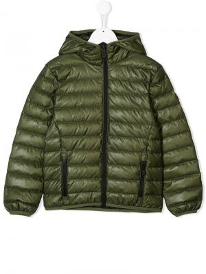 Hooded padded jacket Ciesse Piumini Junior. Цвет: зеленый