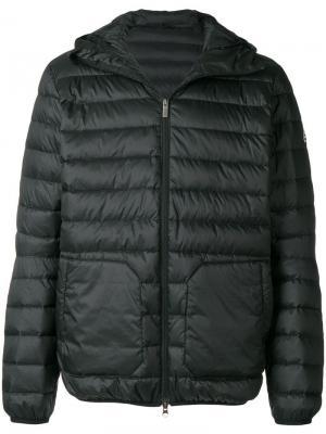 Quilted hooded coat Pyrenex. Цвет: черный