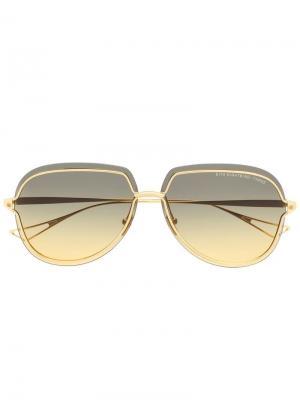 Солнцезащитные очки Nightbird Three Dita Eyewear. Цвет: золотистый