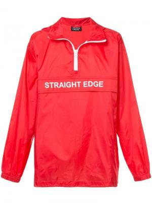 Ветровка Straight Edge Andrea Crews. Цвет: красный