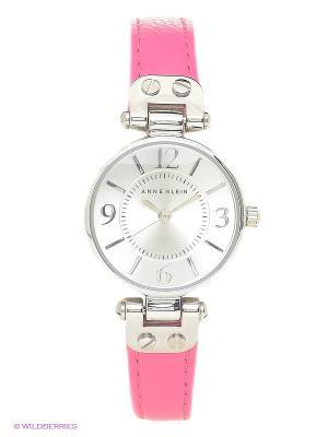 Часы ANNE KLEIN. Цвет: розовый, серебристый