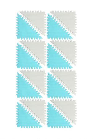 Коврик-пазл FUNKIDS. Цвет: серый