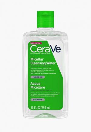 Мицеллярная вода CeraVe. Цвет: прозрачный