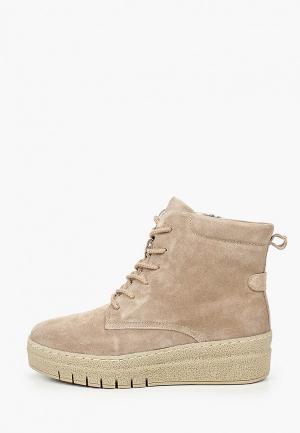 Ботинки La Grandezza. Цвет: бежевый