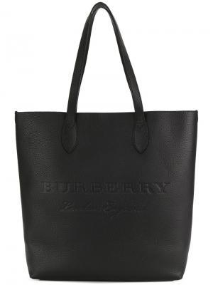 Средняя сумка-тоут Burberry. Цвет: черный
