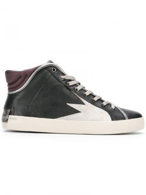 Hope hi-top sneakers Crime London. Цвет: черный