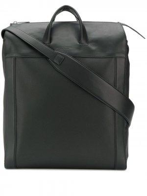 Объемная сумка-тоут Bottega Veneta. Цвет: черный