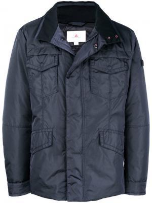 Куртка-пуховик Peuterey. Цвет: синий