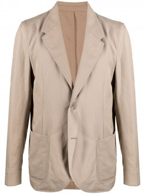 Однобортный пиджак Neil Barrett. Цвет: нейтральные цвета