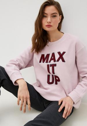 Свитшот Max&Co. Цвет: розовый