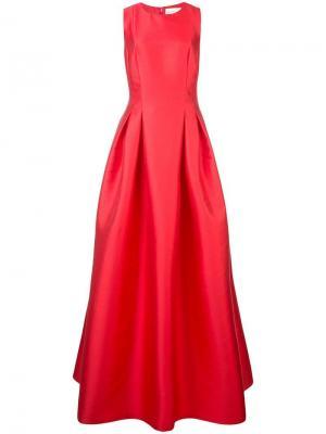 Платье Miramarie Sachin & Babi. Цвет: красный