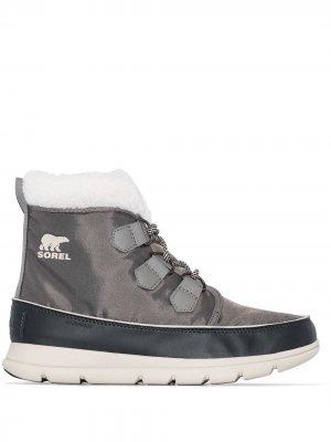 Ботинки Explorer Carnival SOREL. Цвет: серый