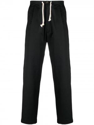 Прямые брюки Sing Société Anonyme. Цвет: черный