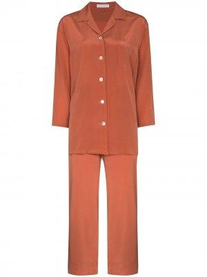 Пижама Casablanca Olivia von Halle. Цвет: оранжевый