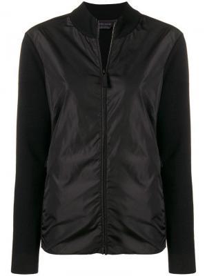 Куртка на молнии Canada Goose. Цвет: черный