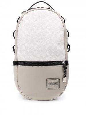 Рюкзак Pacer с логотипом Coach. Цвет: нейтральные цвета
