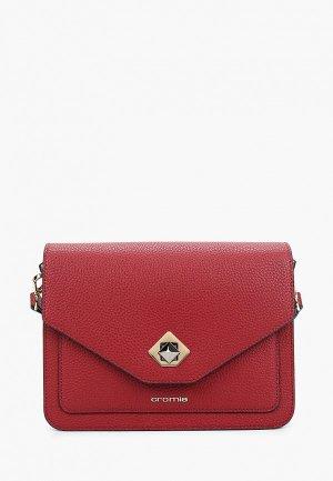 Сумка Cromia. Цвет: красный