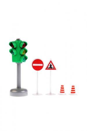 Игровой набор Дорожные знаки ТЕХНОПАРК. Цвет: красный
