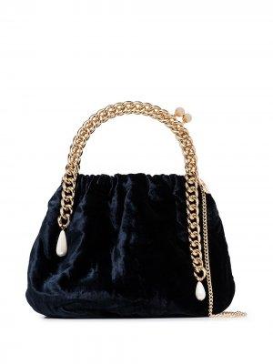 Мини-сумка Maria Luisa Rosantica. Цвет: синий