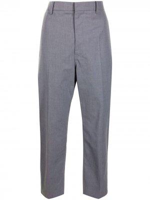 Sofie Dhoore укороченные брюки узкого кроя D'hoore. Цвет: серый