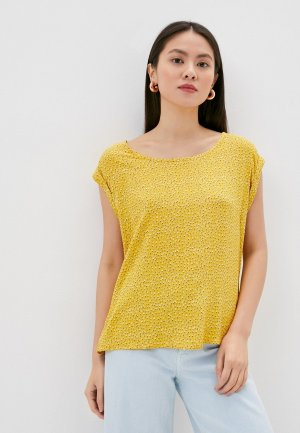 Блуза Fresh Made. Цвет: желтый