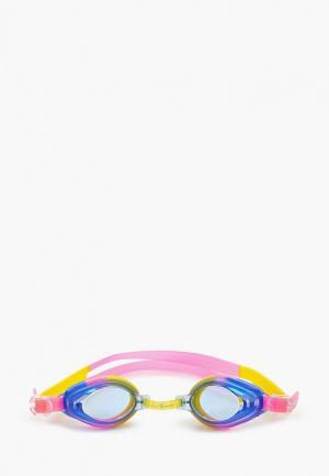 Очки для плавания MadWave. Цвет: разноцветный