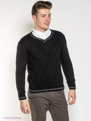 Пуловер BAGGAGE. Цвет: черный