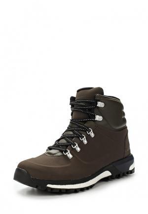 Ботинки трекинговые adidas Performance. Цвет: коричневый