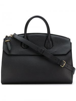 Большая сумка-тоут Sommet Bally. Цвет: черный
