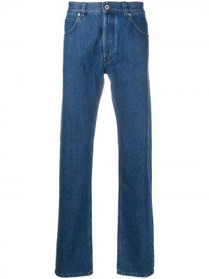 Зауженные джинсы с логотипом LOEWE. Цвет: синий