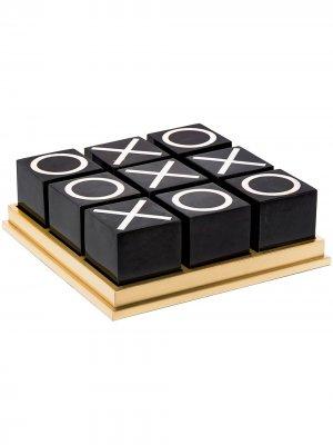 LObjet набор для игры в крестики-нолики L'Objet. Цвет: черный