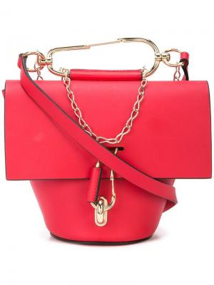 Belay crossbody bag Zac Posen. Цвет: красный