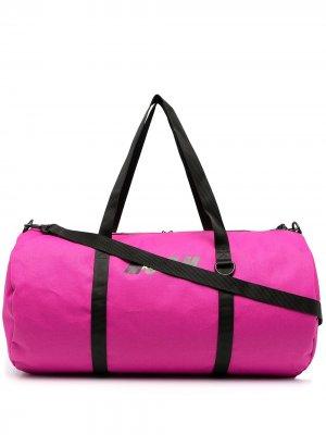 Дорожная сумка MSGM. Цвет: розовый