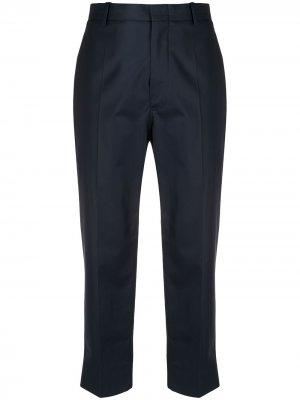 Sofie Dhoore укороченные брюки прямого кроя D'hoore. Цвет: синий