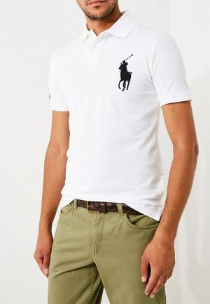 Поло Polo Ralph Lauren. Цвет: белый