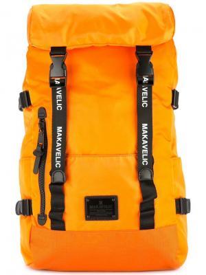 Double belt daypack Makavelic. Цвет: оранжевый