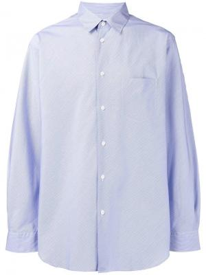 Classic plain shirt Comme Des Garçons. Цвет: синий