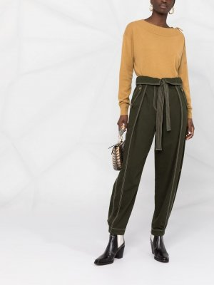 Трикотажная блузка Sophisticated Softness Dorothee Schumacher. Цвет: желтый