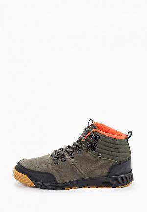 Ботинки Element. Цвет: зеленый