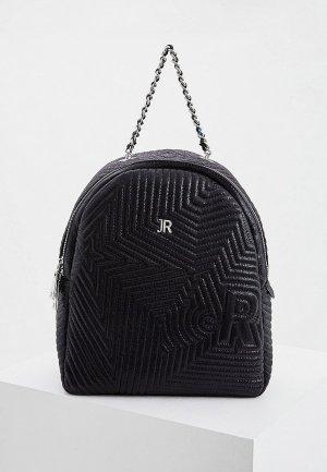Рюкзак John Richmond. Цвет: черный