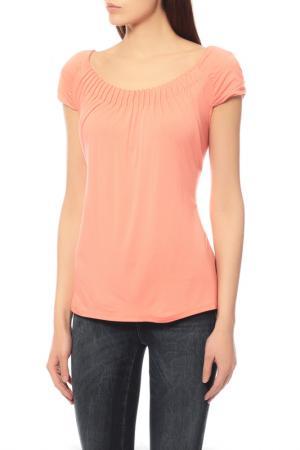 Блуза Comma. Цвет: коралловый